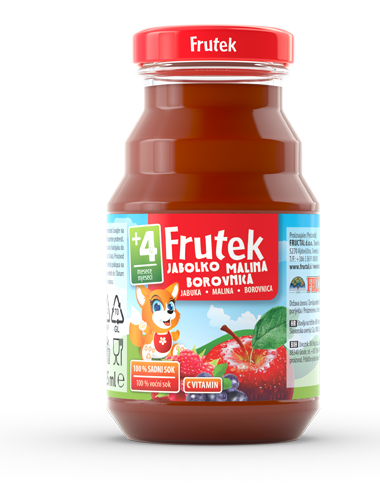 Frutek juices Apple Raspberry Blueberry