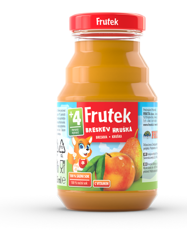 Frutek juices Pear Peach